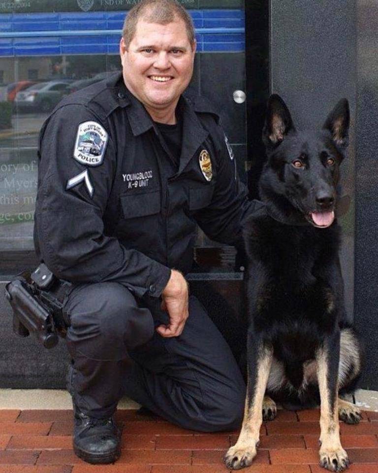 K9 Thor E O W 13 August 2018 K9 Thor Was With The Fort Myers Police Department Until His Retirement In March Of 2018 K9 Officer Military Heroes Police K9