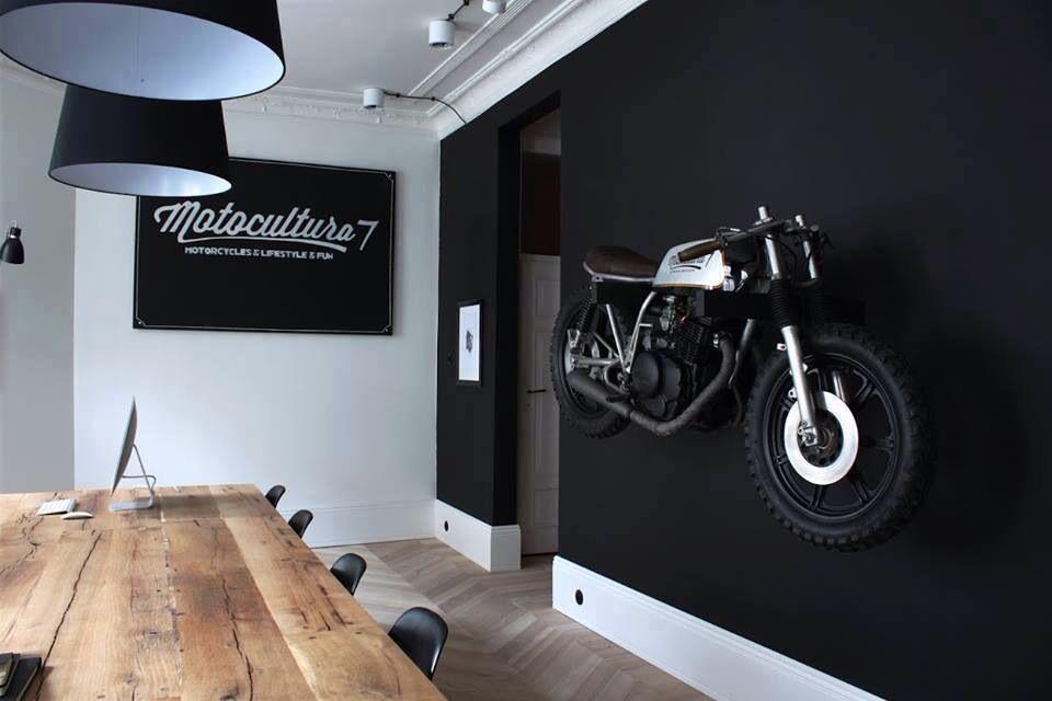 Kustom brothers lifestyle deco biker home moto salon id e deco moto 59m motorcycle mayhem - La maison de la moto ...