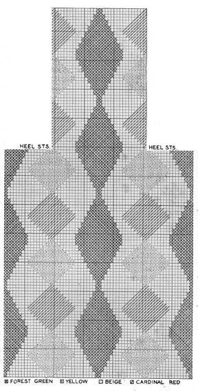 Men's Argyle Socks | No. K103 | Knitting Patterns | Mens ...