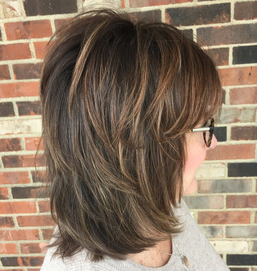 20 Shaggy Hairstyles for Women with Fine Hair over
