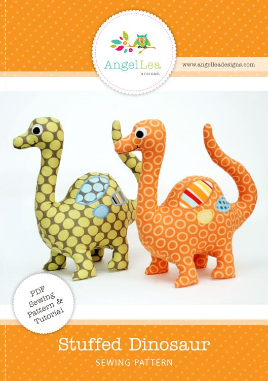 Ith Dino Embroidery Hine Dinosaur Pattern Stuffie Plush Personilized Monogramed Diy Toy Quick Easy Hines And