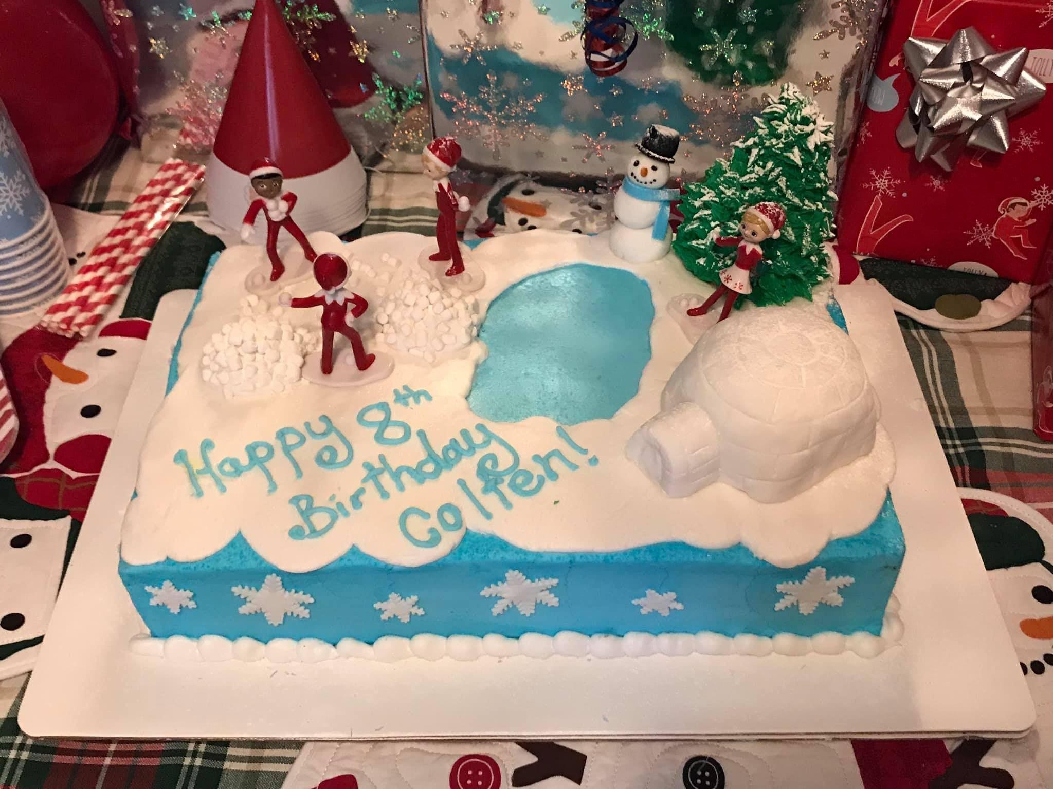 Elf On The Shelf Cake Cake By The Cake Life Cakesdecor