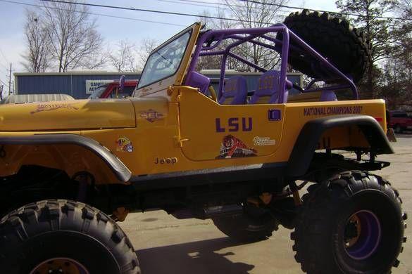 Cool Lsu Jeep Winnfield Photo Album Topix Lsu Jeep Lsu Tigers