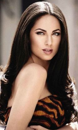 Brunette beauty Barbara Mori is a Mexican actress and model