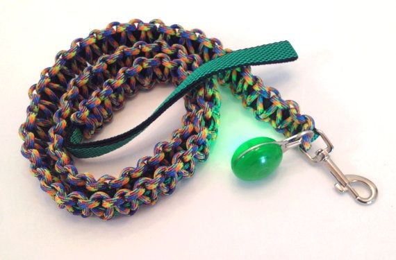 Green Light on handmade green nylon and by spreadblessings on Etsy
