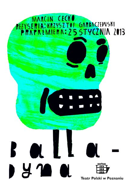 """""""Balladyna"""" theatre posters on Behance"""