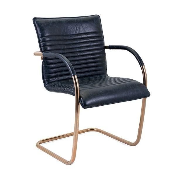 NK Dobler Top Grain Leather Chair - ModLivingDecor.Com