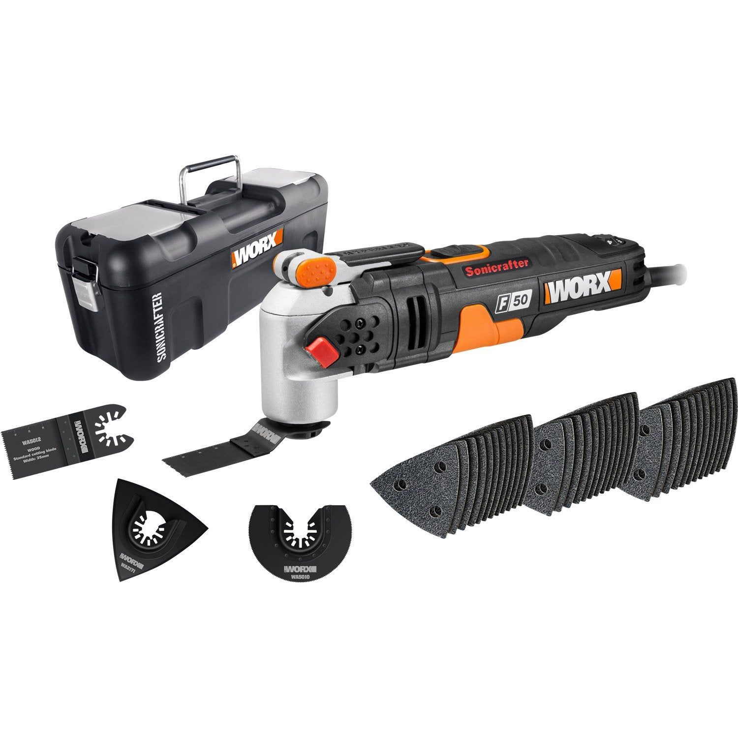 Outil Multifonction Worx Sonic F50 450 W Worx Outil Multifonction Multifonction Et Outils
