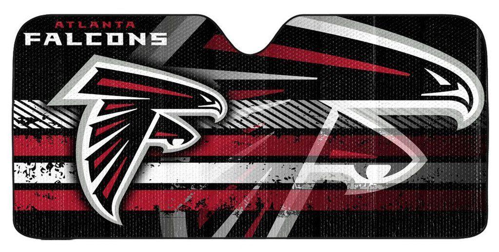 Atlanta Falcons Auto Sun Shade 59 X27 Atlanta Falcons Atlanta Falcons Art Falcons