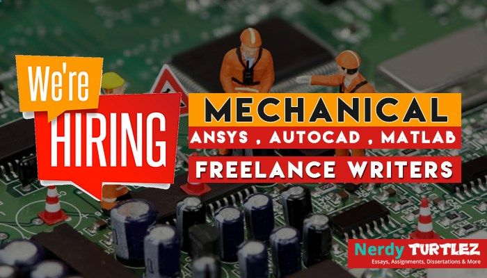 urgent hiring for mechanical lance academic writer be the urgent hiring for mechanical lance academic writer be the mechanical lance writer nerdy turtlez and