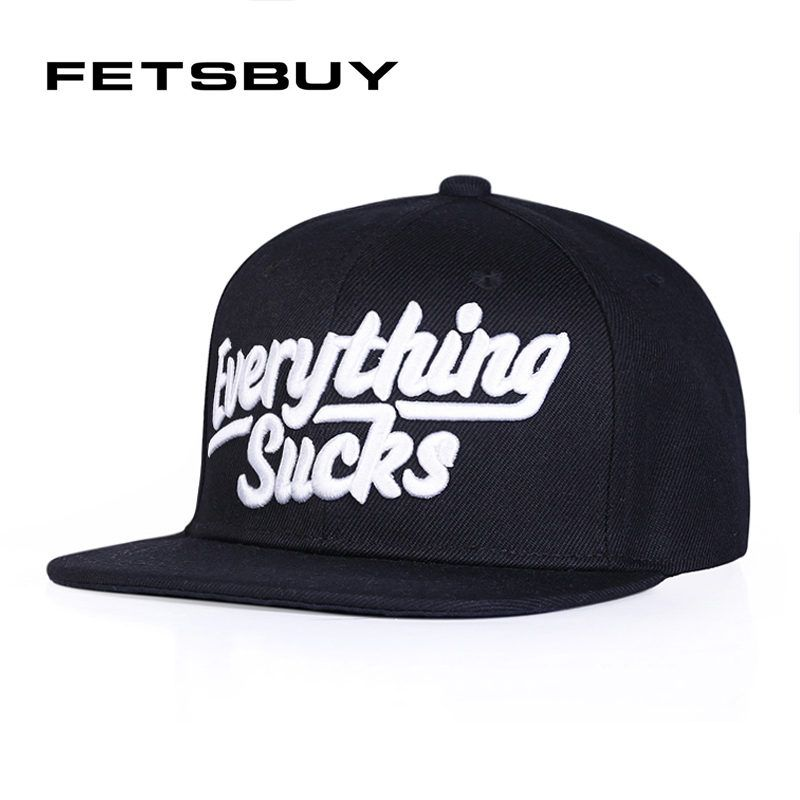 ff1792708d4  FETSBUY  Everything Snapback Caps Fitted Hat Mens Baseball Caps Unisex  Gorras Hip Hop Cap Women Snapbacks Hats Wholesale