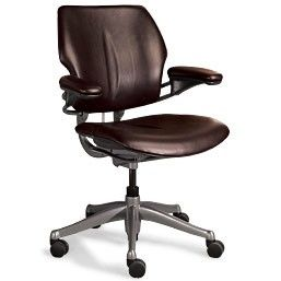 Levenger Chair   By Philipntina More From Levenger Com An Ergonomic Leather  Desk Chair .