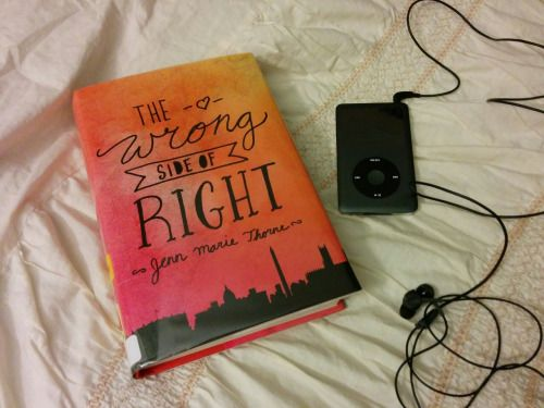 Reading The Wrong Side of Right and listening to The Raven Boys))