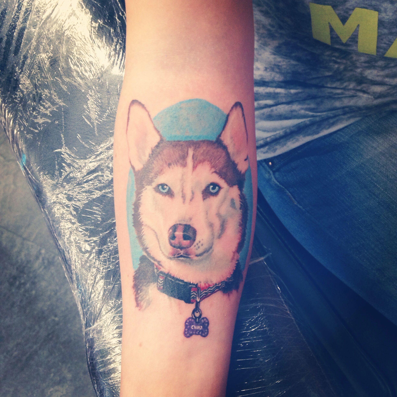 Cute korean tattoo ideas looks just like russia  tattoous  pinterest  russia husky