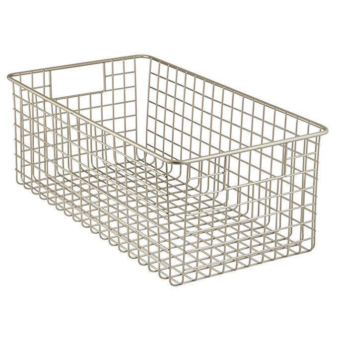 a545e51801718 InterDesign Classico Kitchen Pantry Freezer Wire Basket Organizer ...
