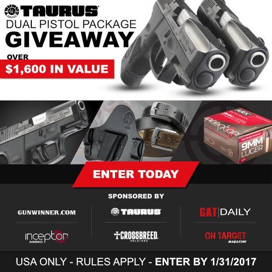 Taurus giveaway