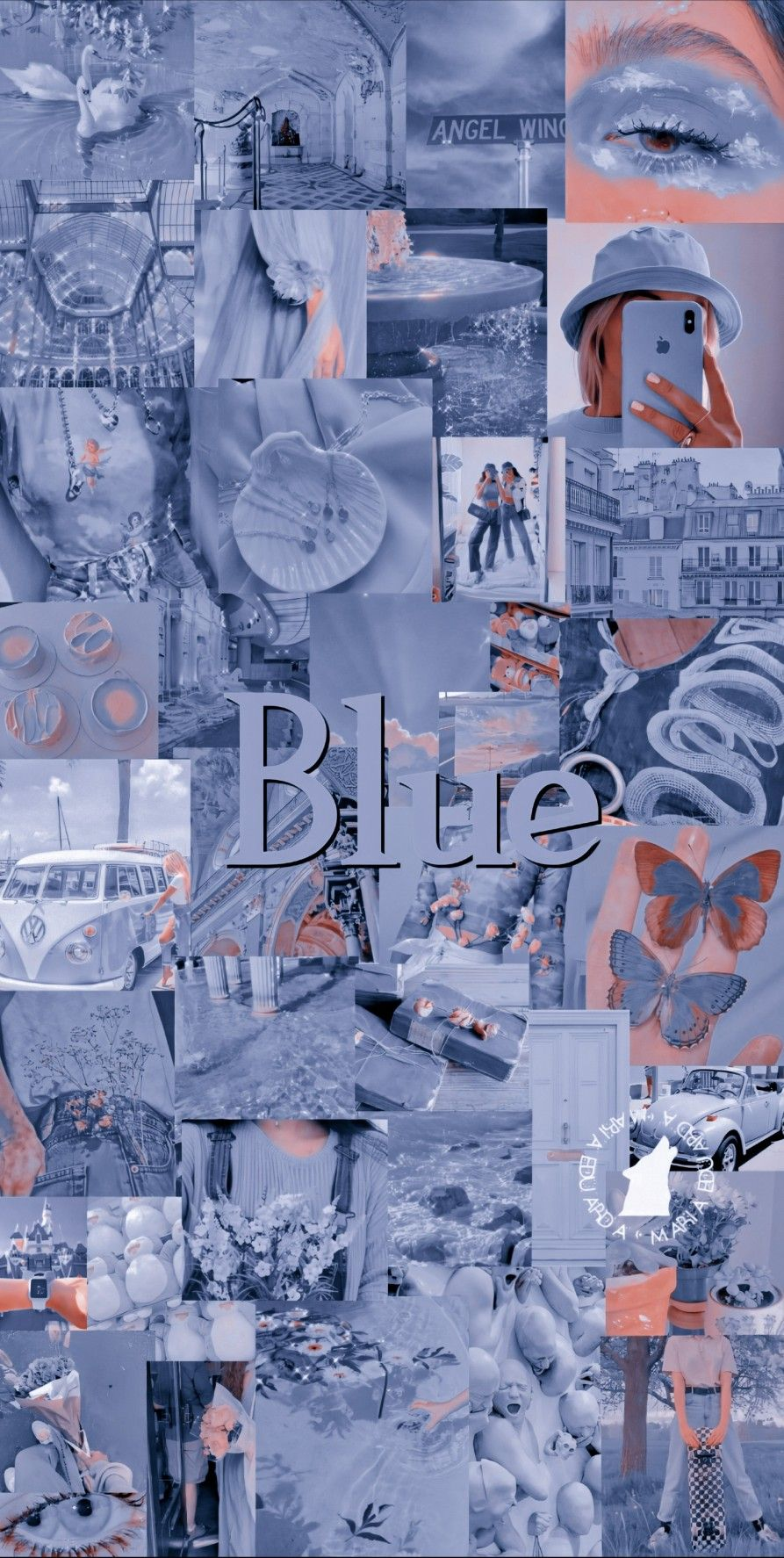 Lockscreen Blue