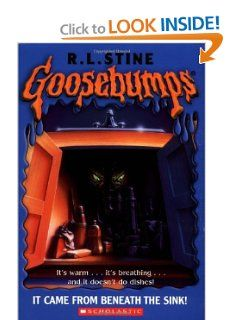 It Came From Beneath The Sink Goosebumps Series By R L