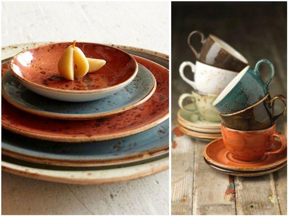 Platos y tazas de la vajilla craft de steelite vajilla for Vajilla retro