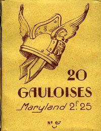 circa 1939 Gauloises pack