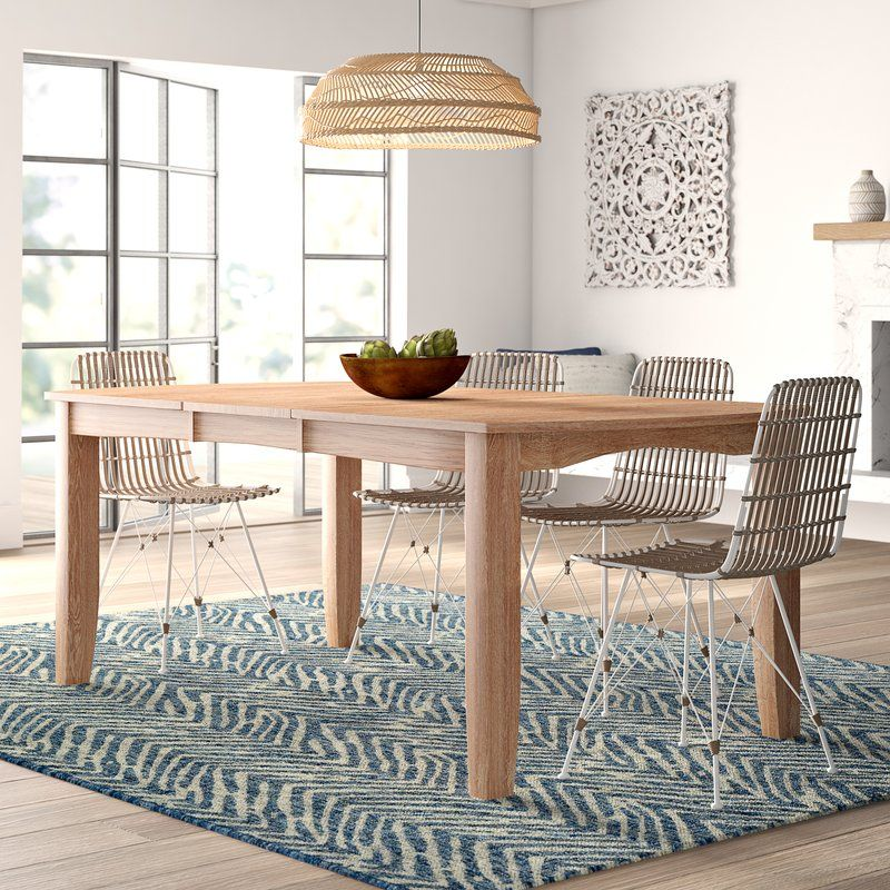 Lynn Extendable Solid Wood Dining Table Solid Wood Dining Table