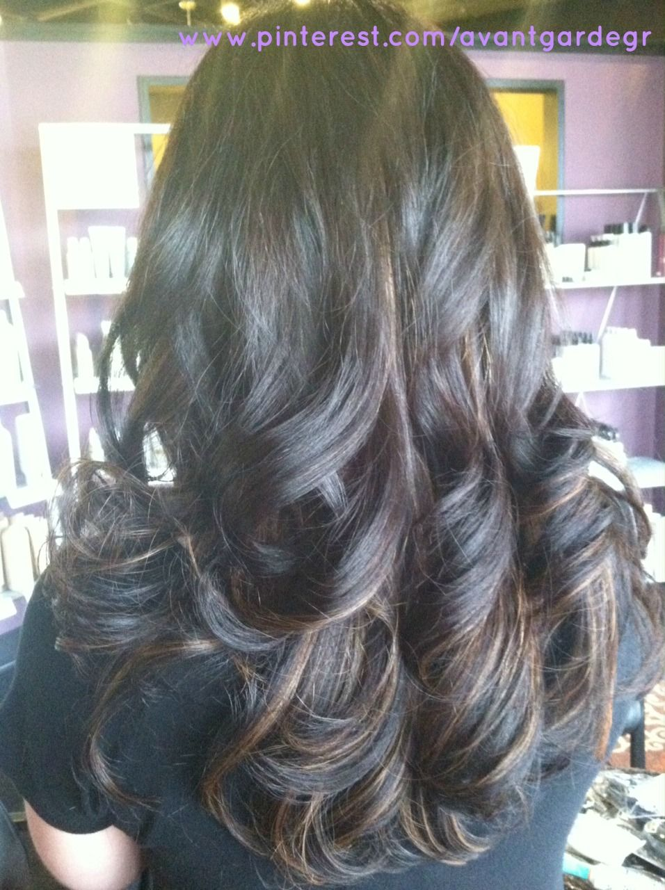 Peek A Boo Caramel Highlights By Lisa At Avantgarde Salon Spa In