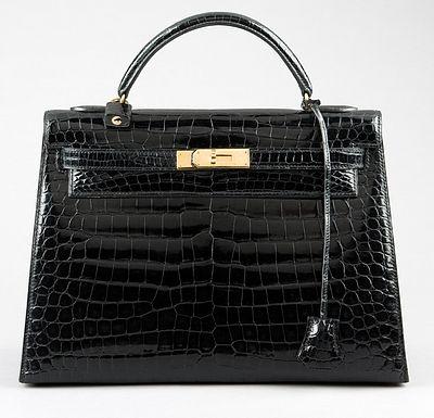 Hermès black crocodile bag(画像あり) | エルメス