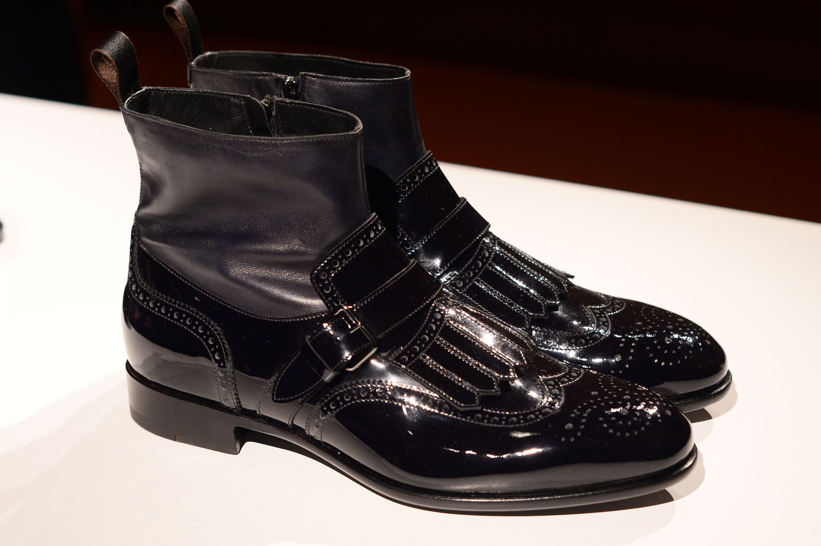 Santoni Men s Fall Winter 2017 at Milano Fashion Week  ed67c7b1ea1