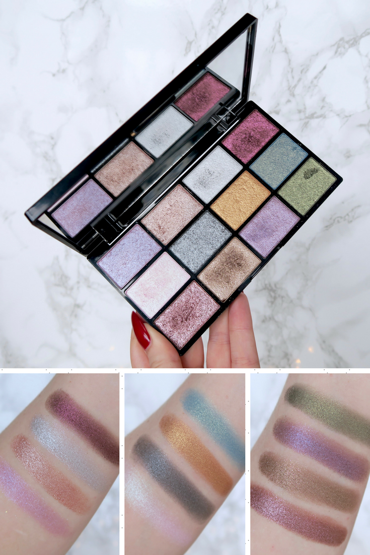 Photo of One Palette, 3 Ways: NYX In Your Element 'Metals'