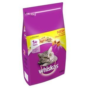 Whiskas 1 Complete Adult Chicken 3.8kg x 3 *** Want to