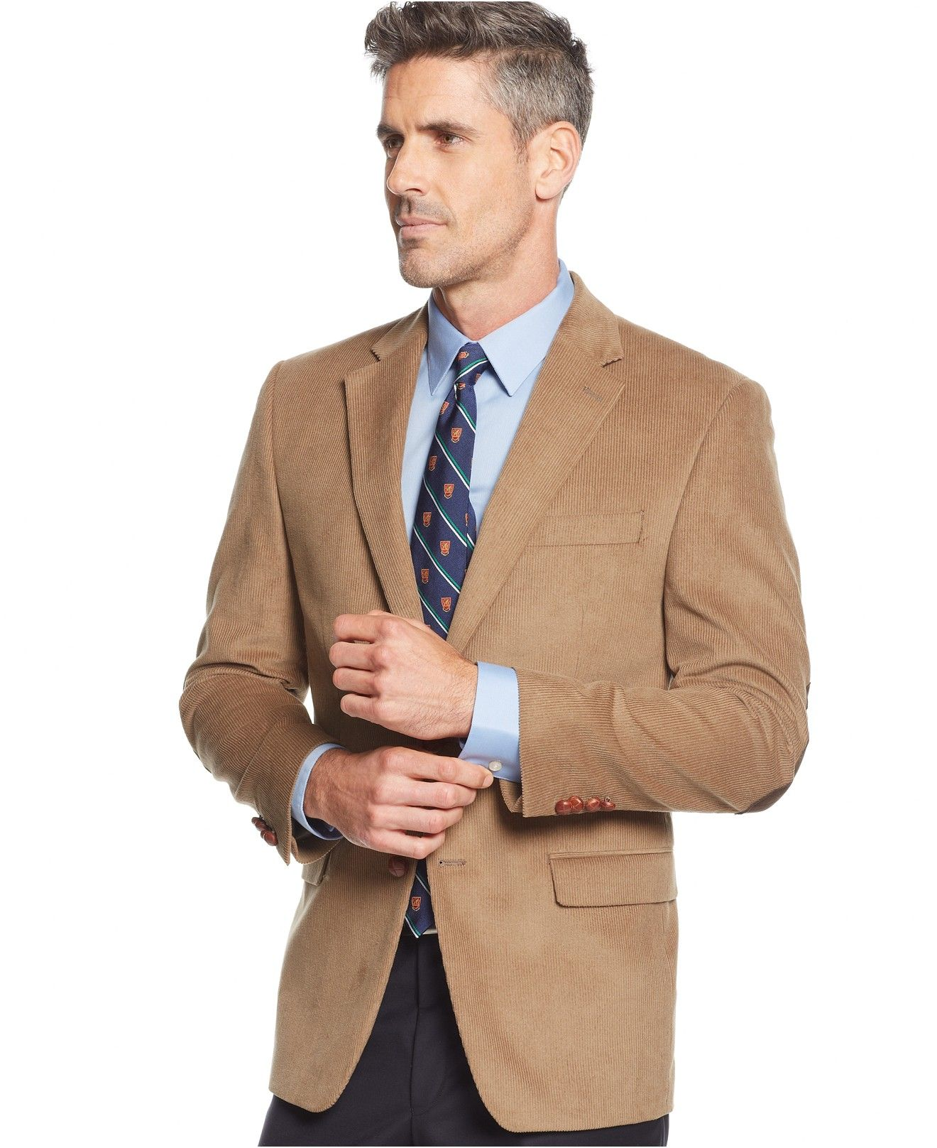 Lauren Ralph Lauren Elbow Patch Corduroy Sport Coat - Blazers & Sport Coats  - Men -