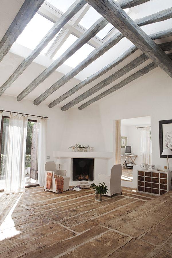 summer cottage of pepa poch deco maison d co maison et interieur maison. Black Bedroom Furniture Sets. Home Design Ideas