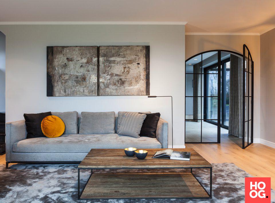 Strak landelijk interieur woonkamer idee n living room for Interieur ideeen woonkamer