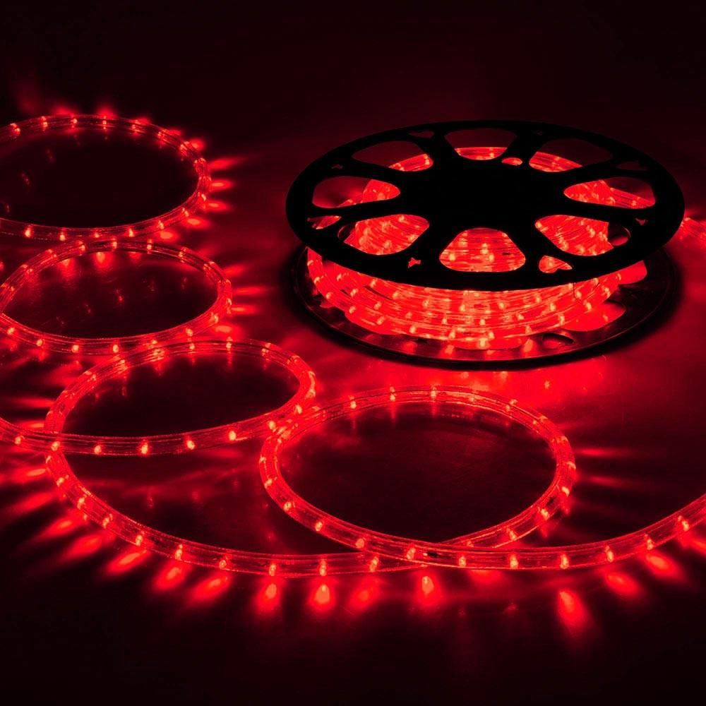 Delight Led Holiday Lights 150ft Red W