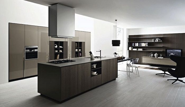 modern black and white italian kitchen designs ~ http://lanewstalk