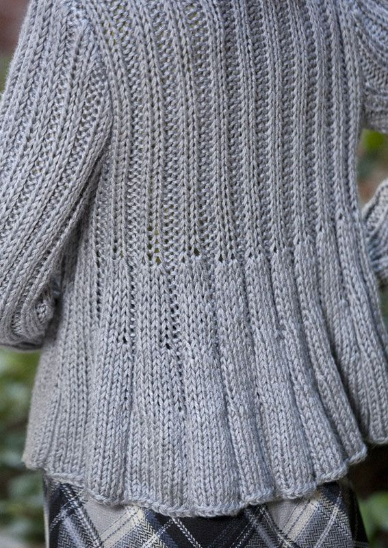 Caron International | Free Project | Swing Jacket | Lavori a maglia ...