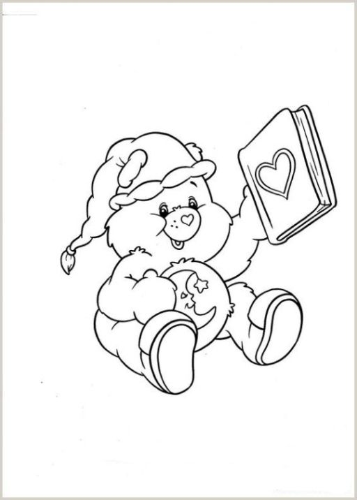 Bedtime Bear Bear Coloring Pages Disney Coloring Pages Cute Coloring Pages