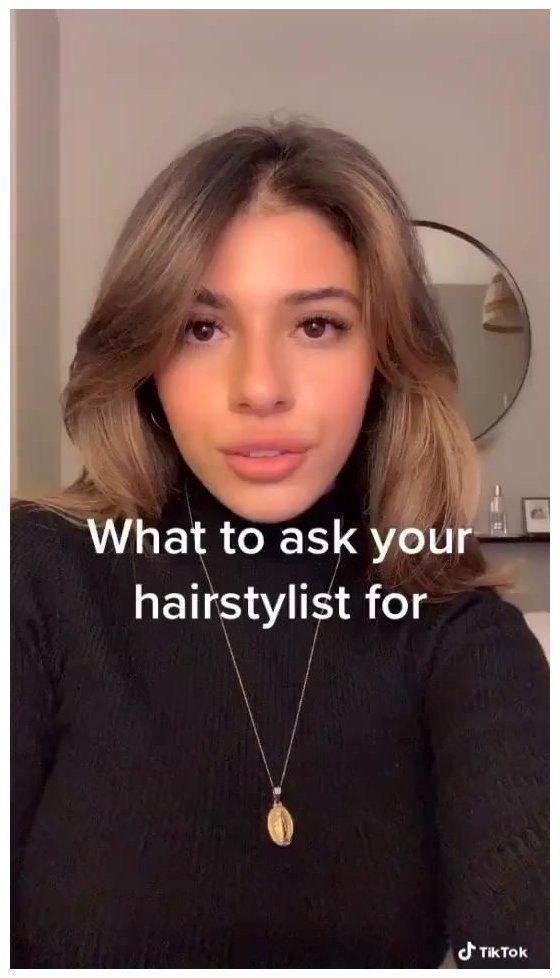 hair inspo color bangs