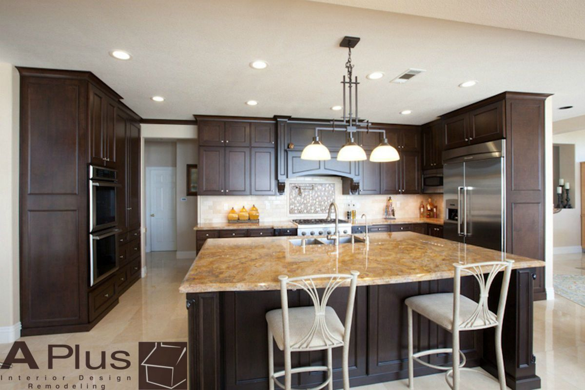 Traditional Perfect Design Build Luxury Finished Craftsman Worked Kitchen  Remodel With Custom Dark Color Cabinets In City Of Laguna Hills, Orange  County.