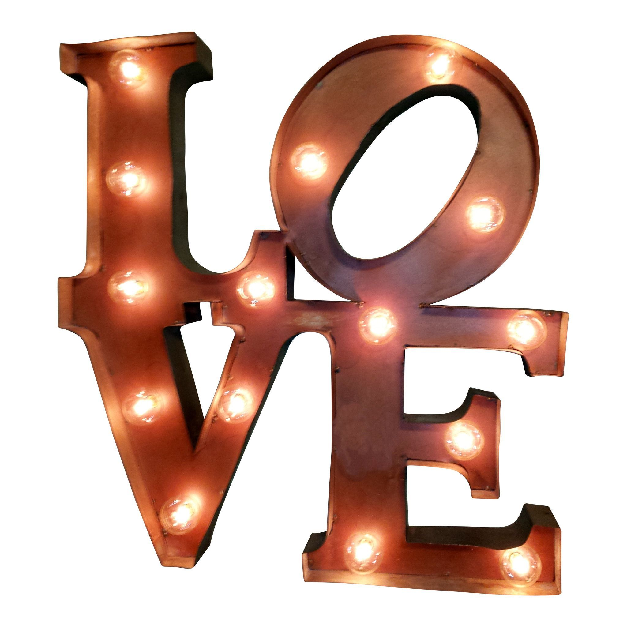 Beautiful Love Marquee Letter Light Sign