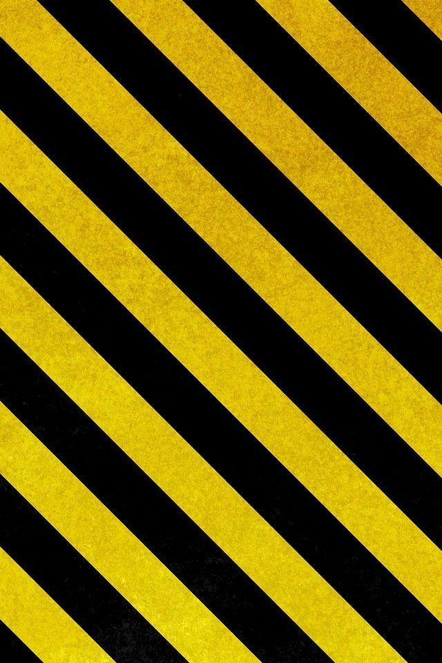 Danderous   Полосатый обои, Жёлтые обои, Обои для телефона