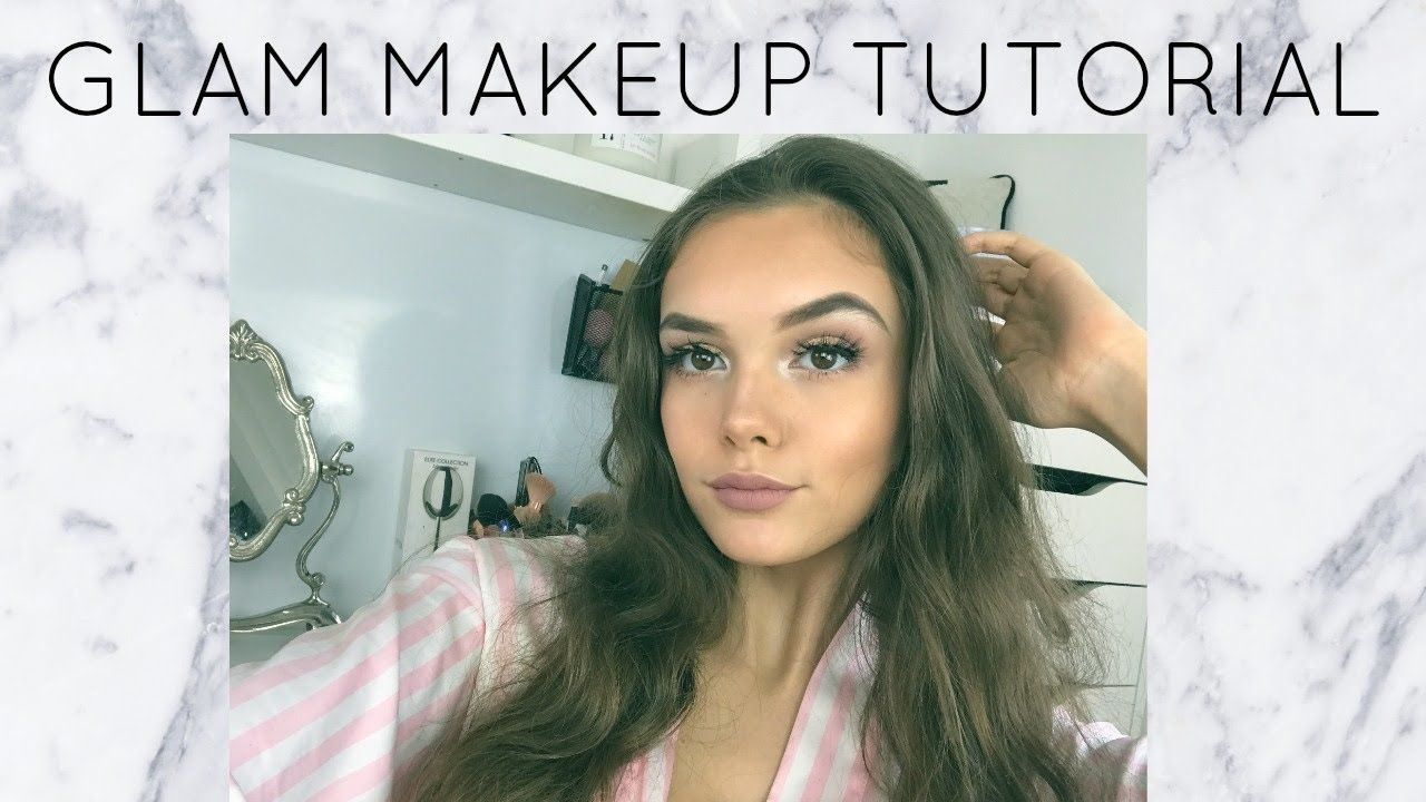 GLAM MAKEUP TUTORIAL | India Grace