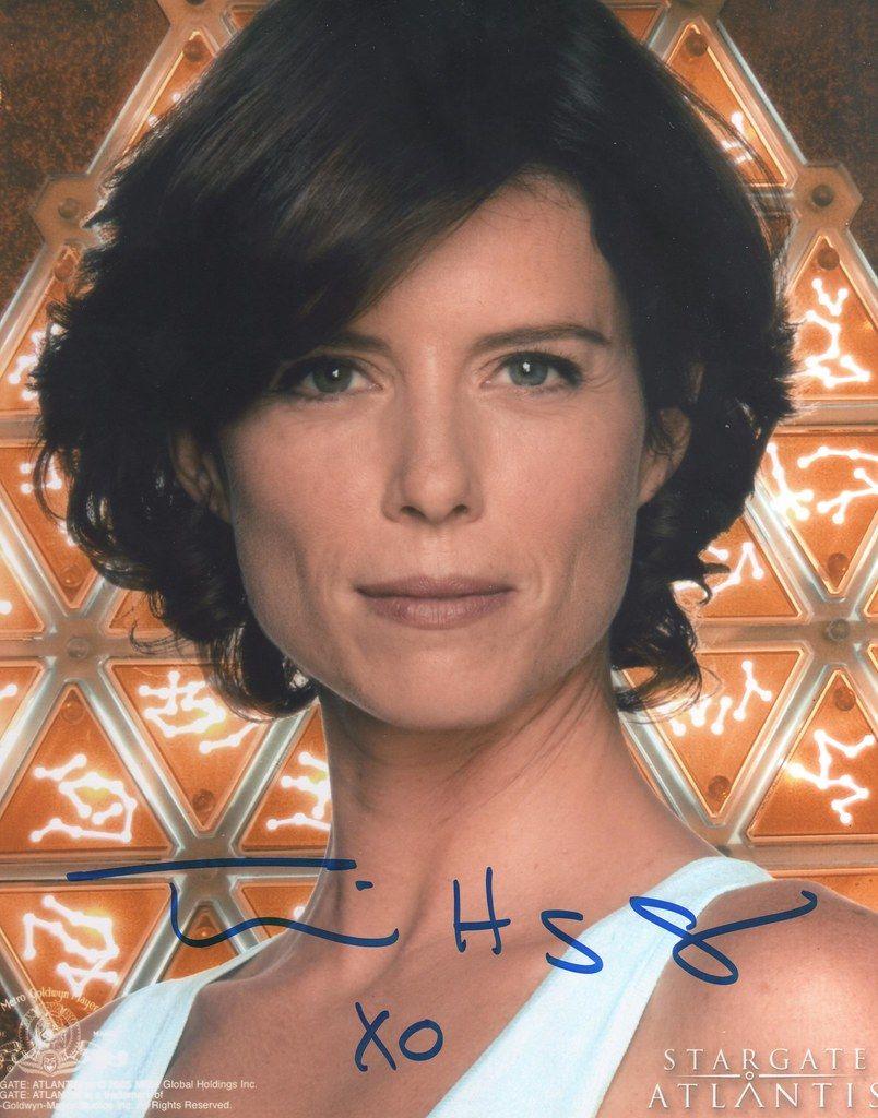 Torri Higginson   Stargate ships, Movie stars, Female race