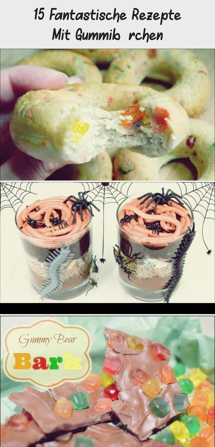 Photo of 15 fantastic recipes with gummy bears # fantastic # gummy bears # recipes …  -…