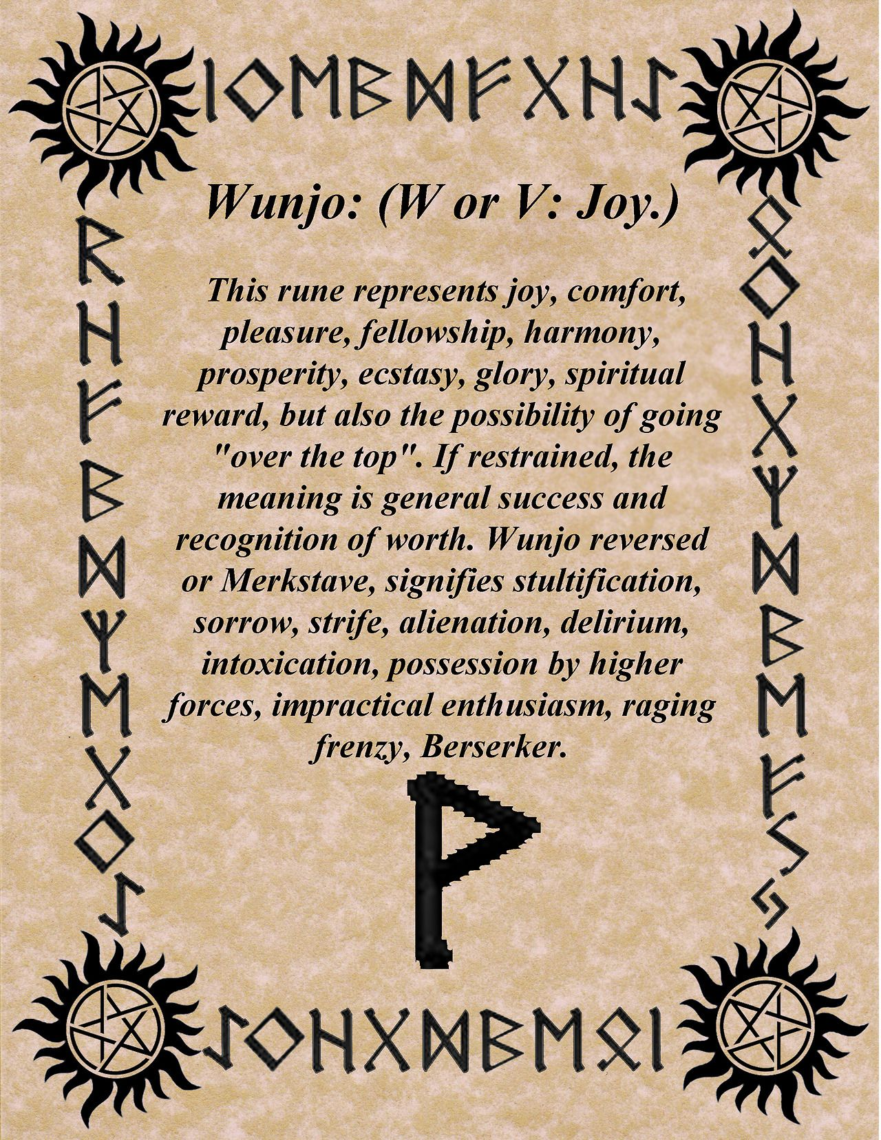 Pin by kerry ocker on teutonic pinterest runes blessings in my research for this novel it was the only rune stone that is directly associated with a god biocorpaavc Choice Image