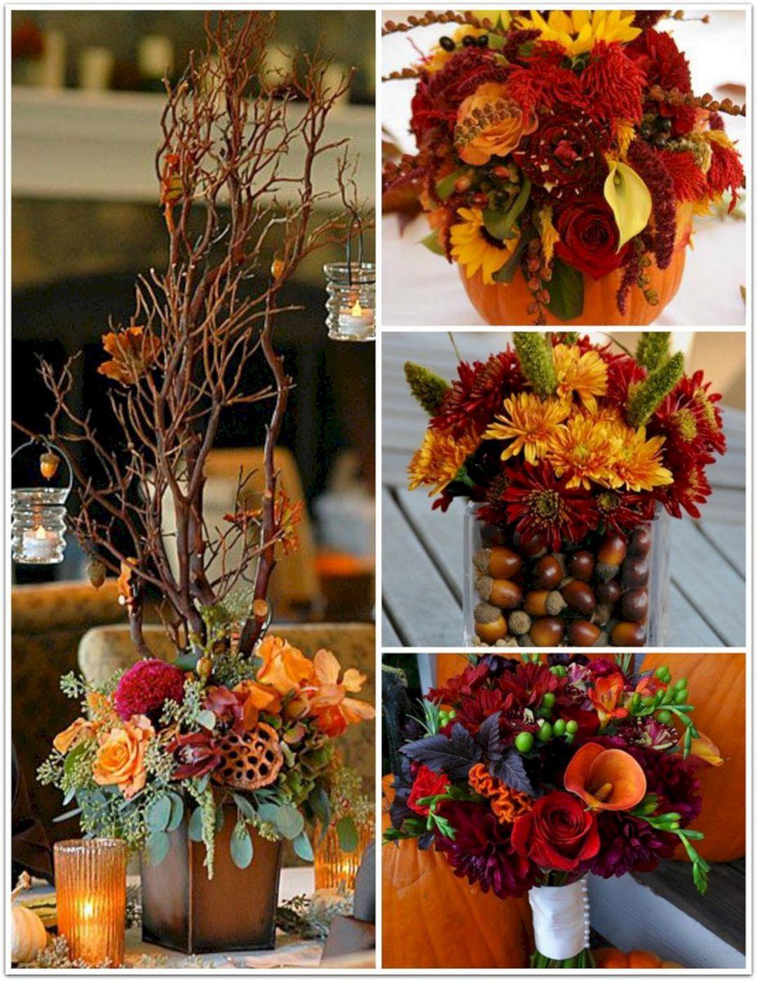 25 Most Beautiful Fall Wedding Party Decoration Ideas #fallweddingideas