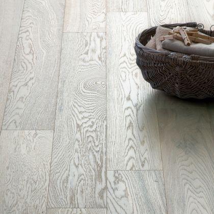 Hygena Soft White Engineered Wood Flooring 142 Sq M Per Pack