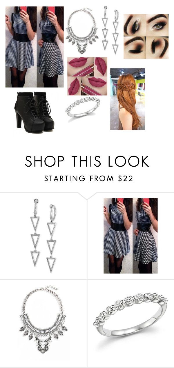 """""""Untitled #257"""" by ray-dany ❤ liked on Polyvore featuring Effy Jewelry, Leith and Bloomingdale's"""
