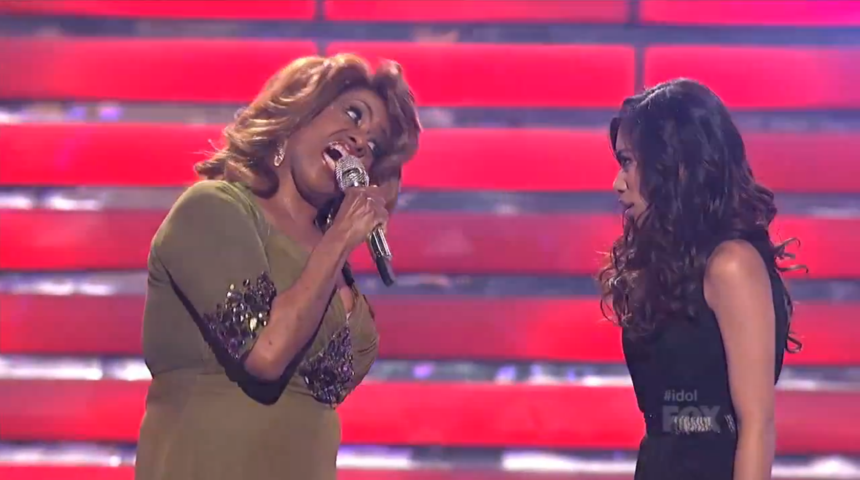 'American Idol': Relive Jessica Sanchez and Jennifer Holliday's divalicious duet