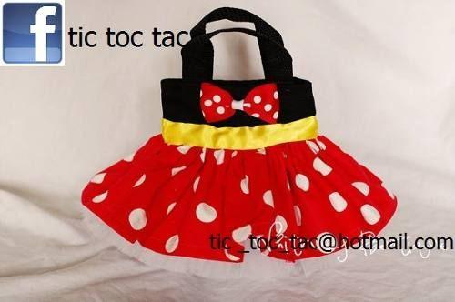 Dulceros Bolsitas Tutu Minnie Mouse Mimi Dulceras Fiestas -